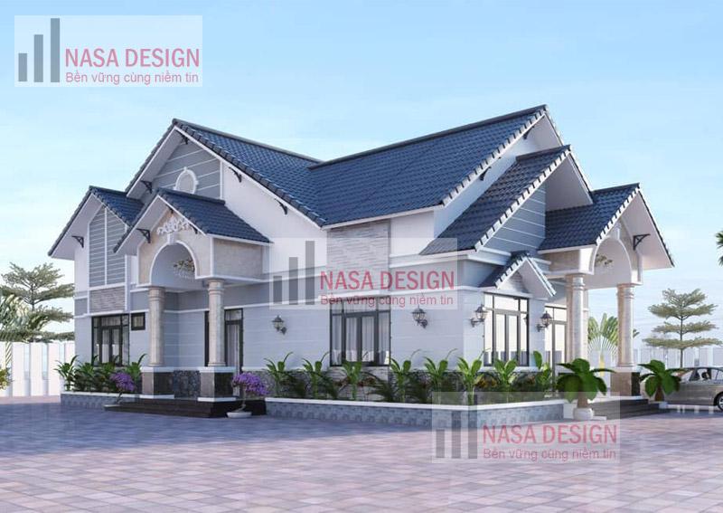 mẫu nhà biệt thự vườn thiết kế hiện đại thi công tại bình dương