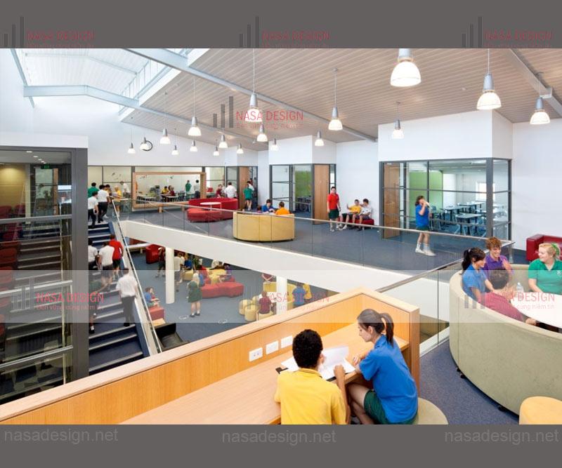 thiết kế thi công trường học tại tphcm-h3