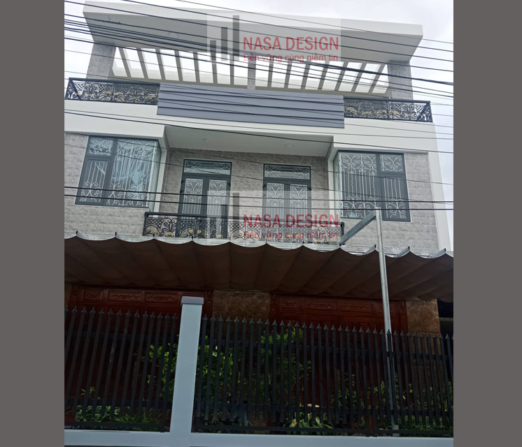 mẫu nhà phố 2 tầng đẹp hiện đại 4